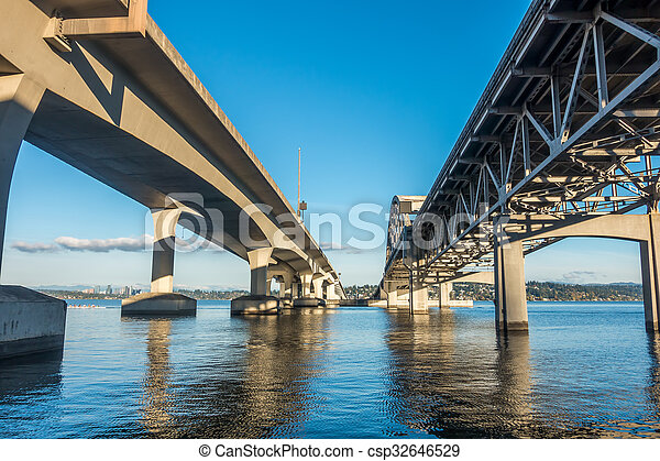 Seattle Bridge - csp32646529