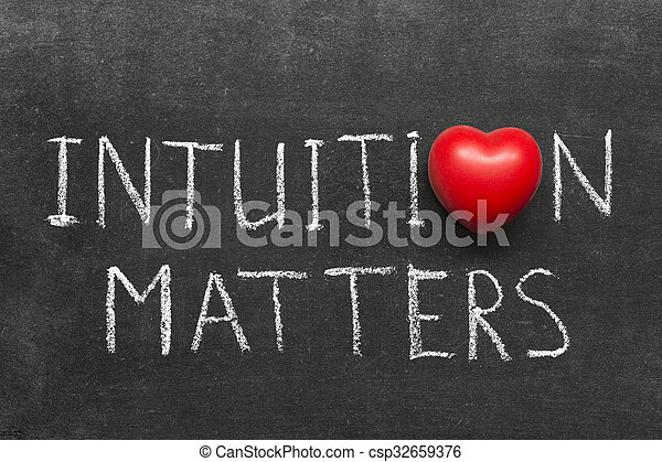 intuition matters - csp32659376