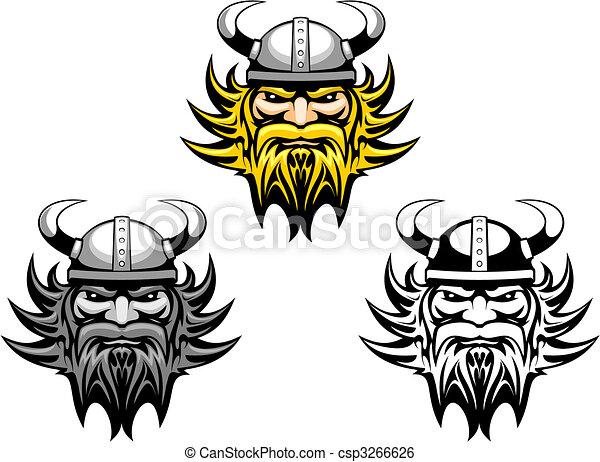 Ancient viking - csp3266626
