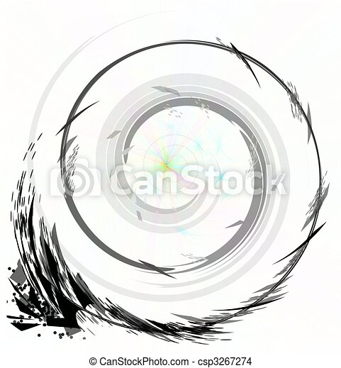 black line turns to white - csp3267274