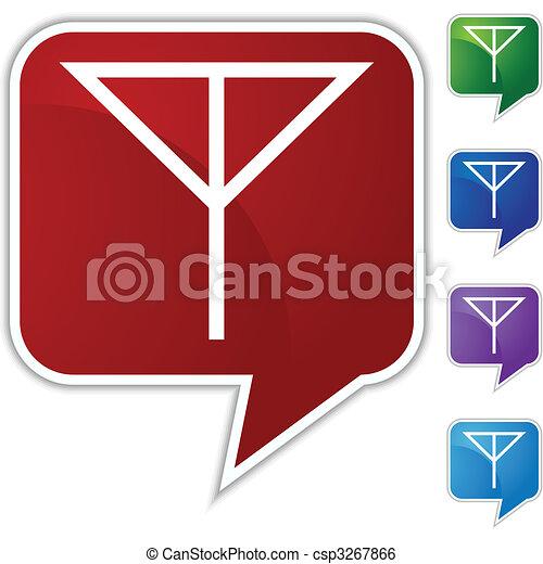 Antenna Icon - csp3267866