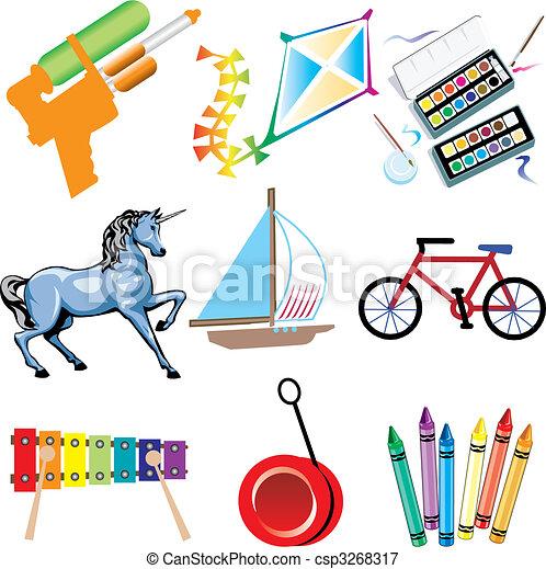 Toy Icons - csp3268317