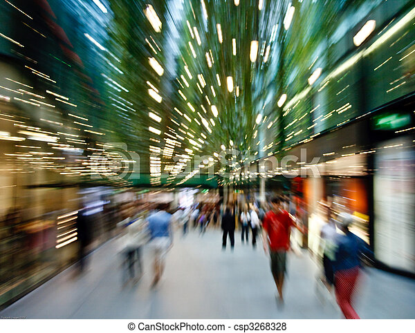 shopping makes me dizzy - csp3268328