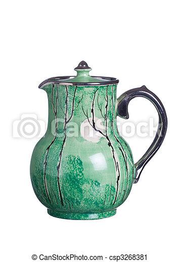anticaglia, caffè, vaso - csp3268381