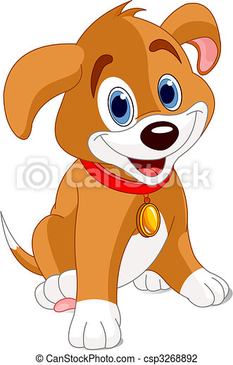 Clip Art Cute Puppy Clipart puppy stock illustrations 35745 clip art images and cute vector illustration of a wearing a
