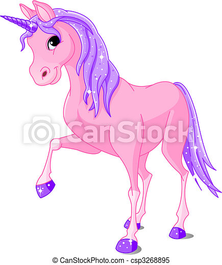 Pink Unicorn - csp3268895