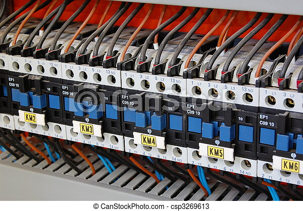 Electrical relays, breakers and ballasts - csp3269613