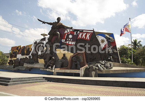 Stock images of k k k monument katipunan bonifacio mural for Bonifacio mural