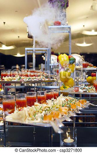 catering food - csp3271800