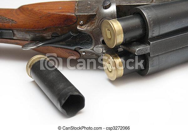 hunting rifle - csp3272066