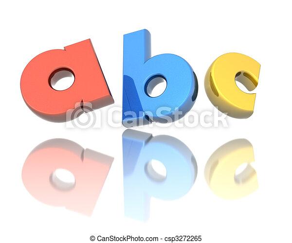 Preschool education concept - csp3272265