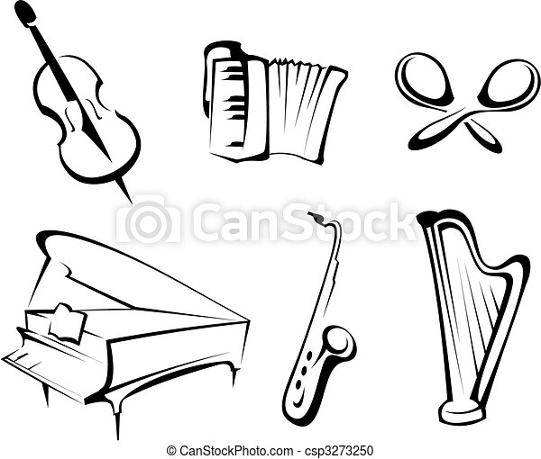 Musical instruments - csp3273250