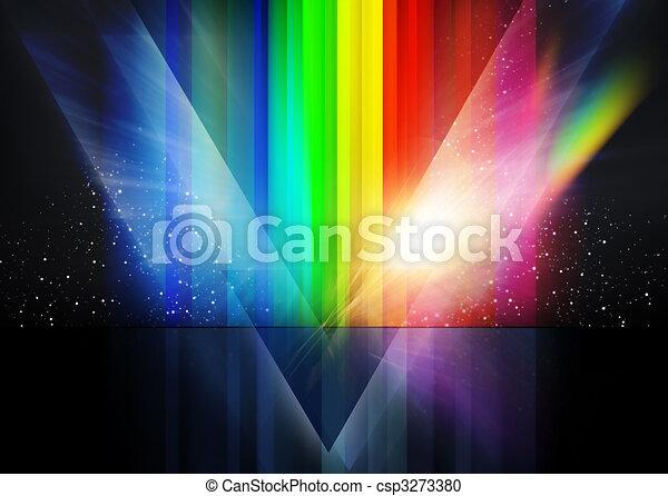 Retro Cosmic Background - csp3273380