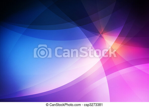 Abstract Curves Background - csp3273381