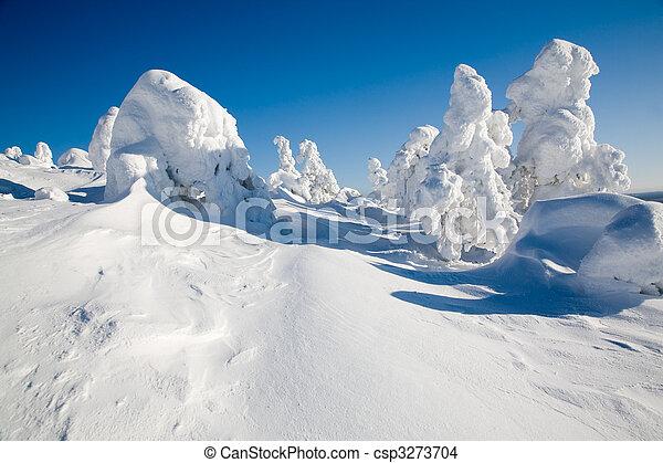 Lapland Finland - csp3273704