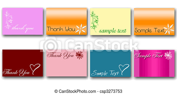 set of 8 card vectors - csp3273753