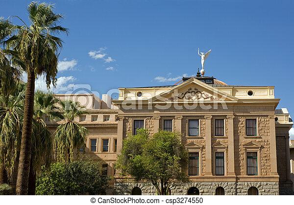 Arizona state capitol - csp3274550