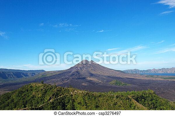 Batur volcano - csp3276497