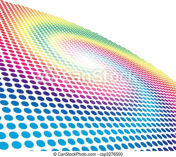 Abstract spectrum spiral - csp3276500