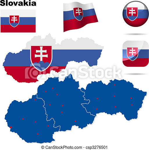 Slovakia  vector set - csp3276501