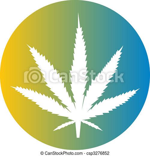Clipart di Marijuana, foglia, illustrazione - Marijuana, canapa ...