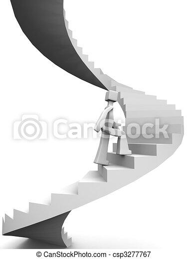 Destination to success of life concept - csp3277767