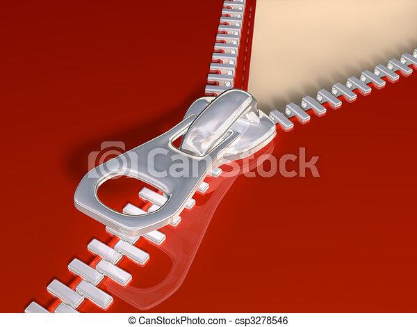 Zipper - csp3278546