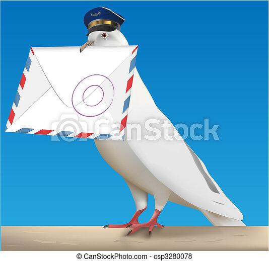 pigeon carrier - csp3280078