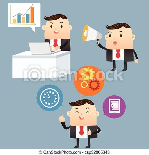 Business Presentation - csp32805343