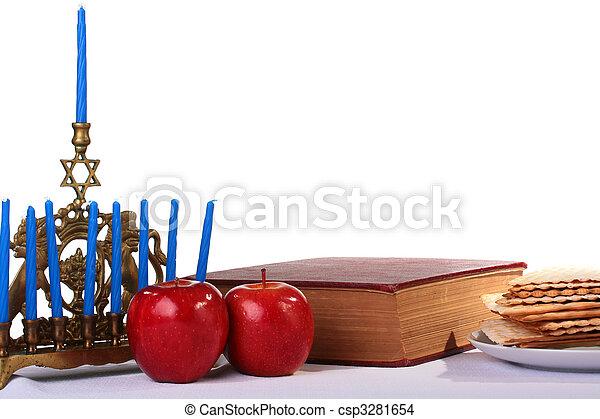 Judaic holiday - csp3281654