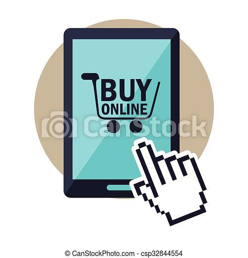 Online Shopping Free Clip Art
