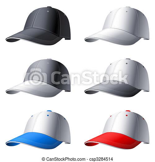 Caps set. - csp3284514