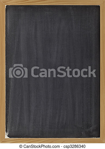 blank blackboard sign - csp3286340