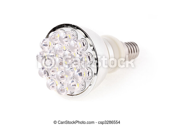 Led Light isolated on white background - csp3286554