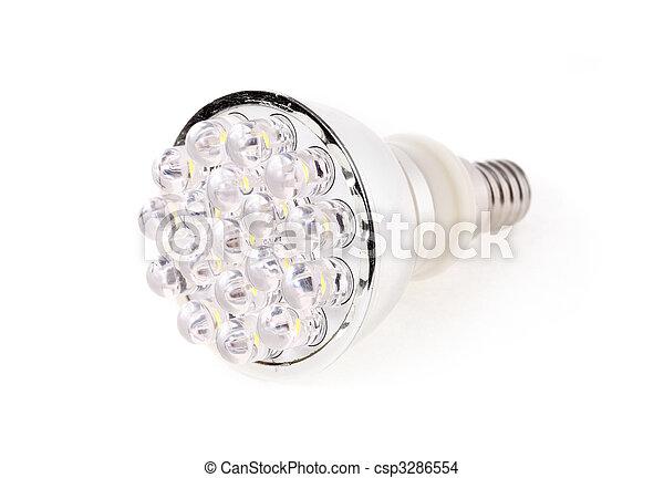 Led Light isolated on white background - csp3286554
