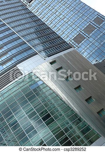 business building exterior - csp3289252