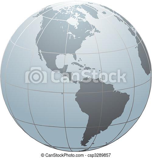 Globe_SN_America - csp3289857