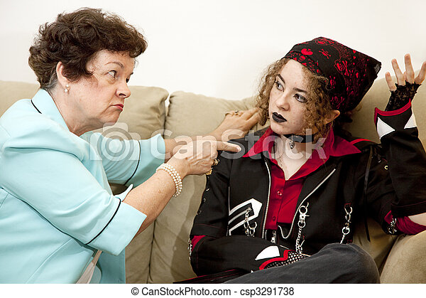 Mother Daughter Conflict - csp3291738