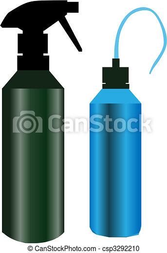 Kitchen Bottles - csp3292210