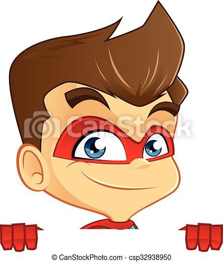 Superhero - csp32938950