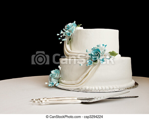 turquoise and white wedding cake with diamonds white wedding cake reference for wedding decoration 21301
