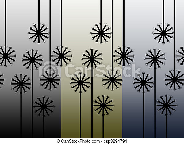 several  flowers - csp3294794