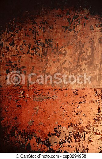 rosa, viejo, pared, textura, Pintura,  Grunge, viejo - csp3294958