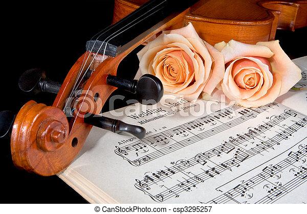 Bridal strings - csp3295257