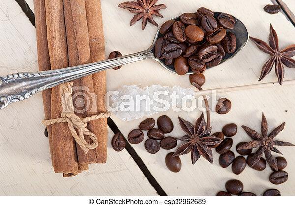 coffe sugar and spice - csp32962689