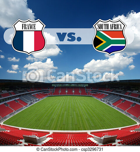 France vs South Africa - csp3296731