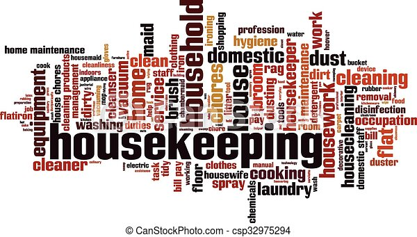 EPS Vectors of Housekeeping [Converted].eps - Housekeeping word ...