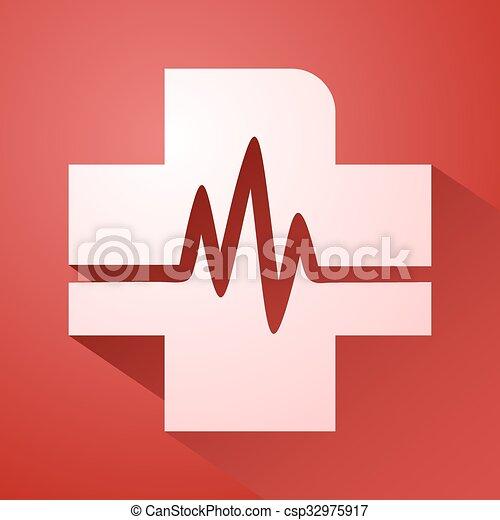 Health symbol - csp32975917