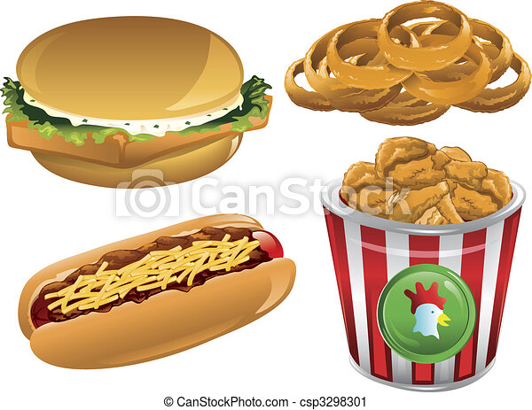 Related pictures gruppo di fast food clipart royalty free vettori e