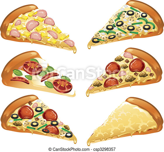 Pizza icons - csp3298357
